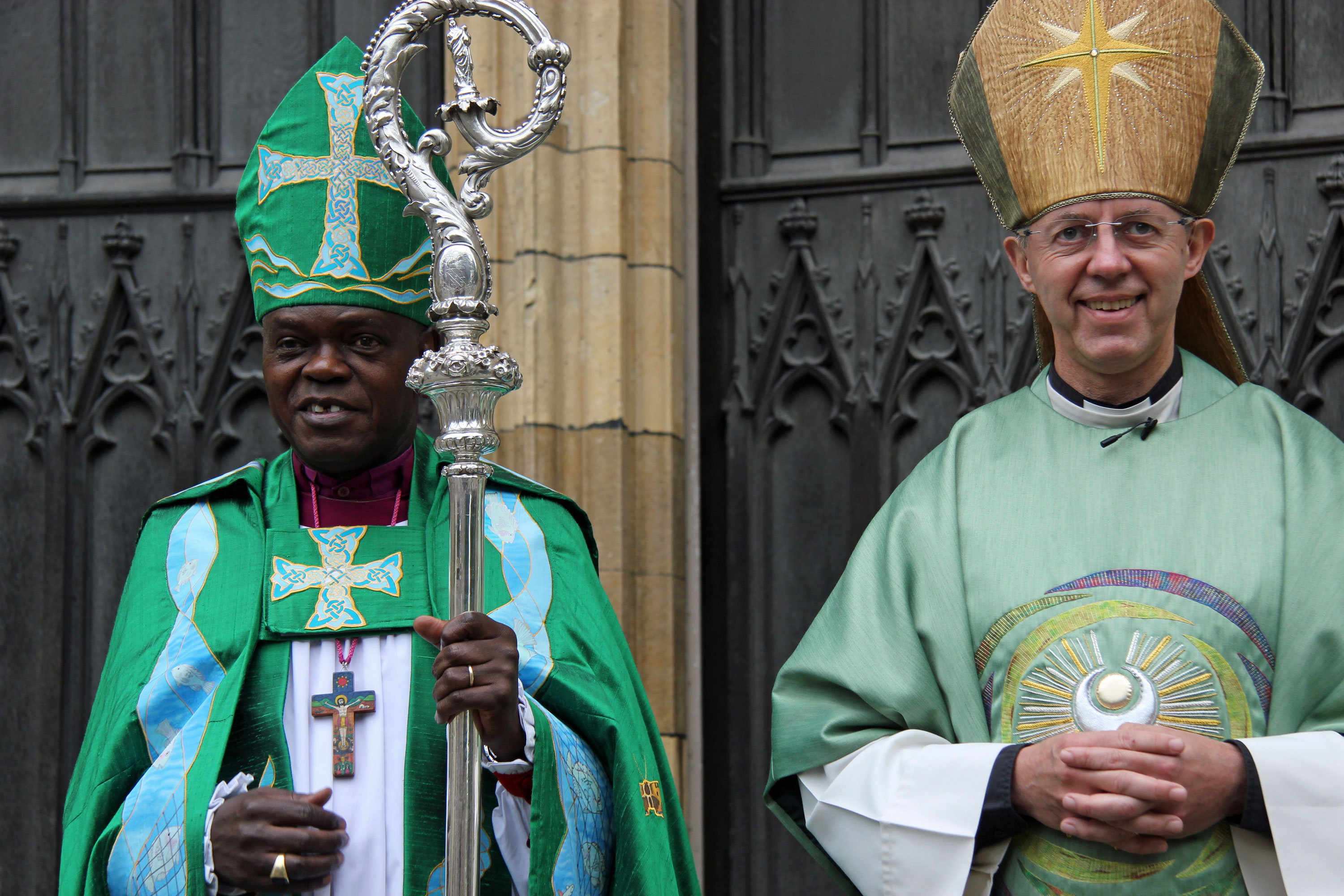 Archbishop John Sentamu and Archbishop Justin Welby