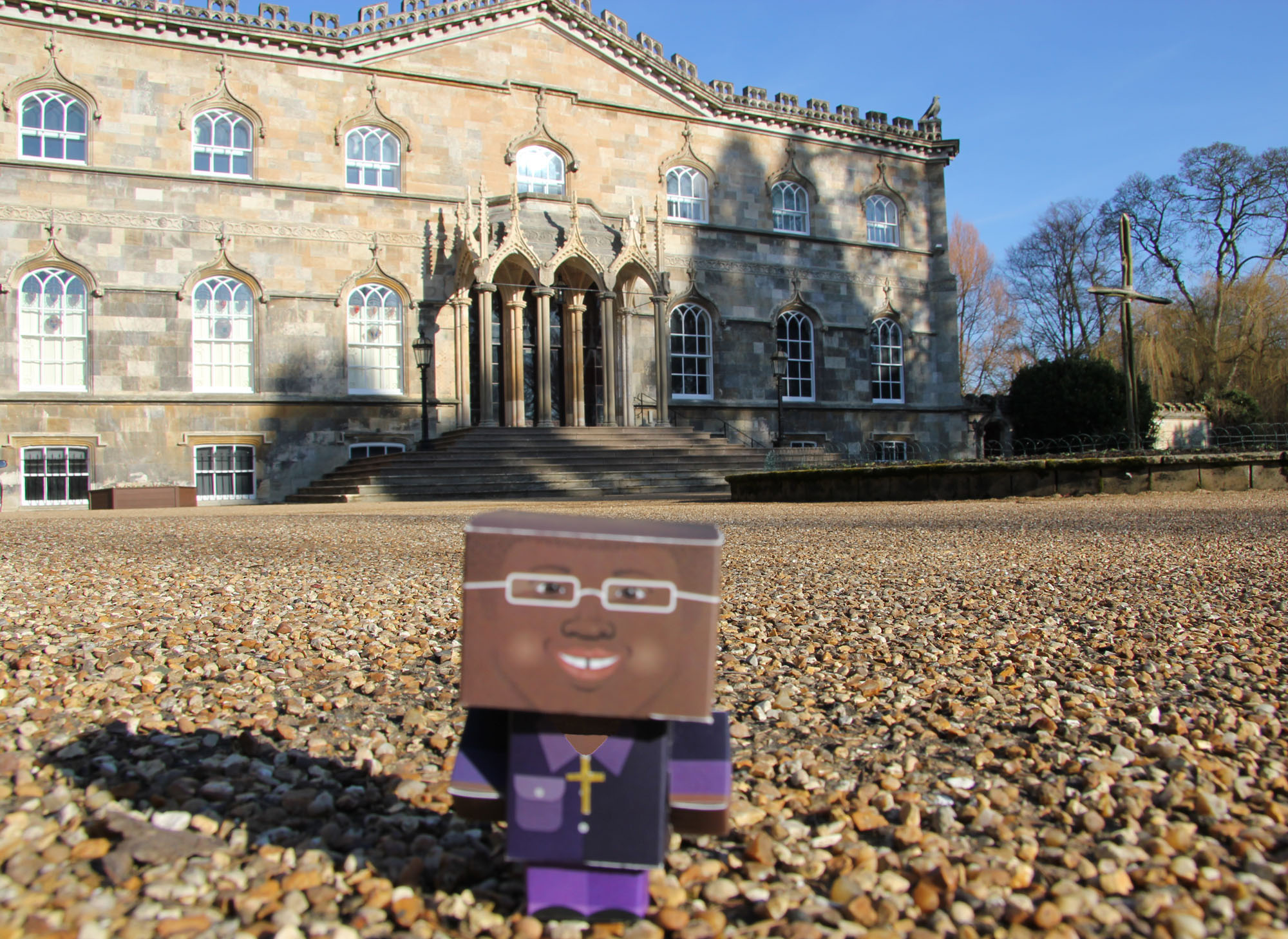 The Archbishop of York's Fairtrade Avatar at Bishopthorpe Palace