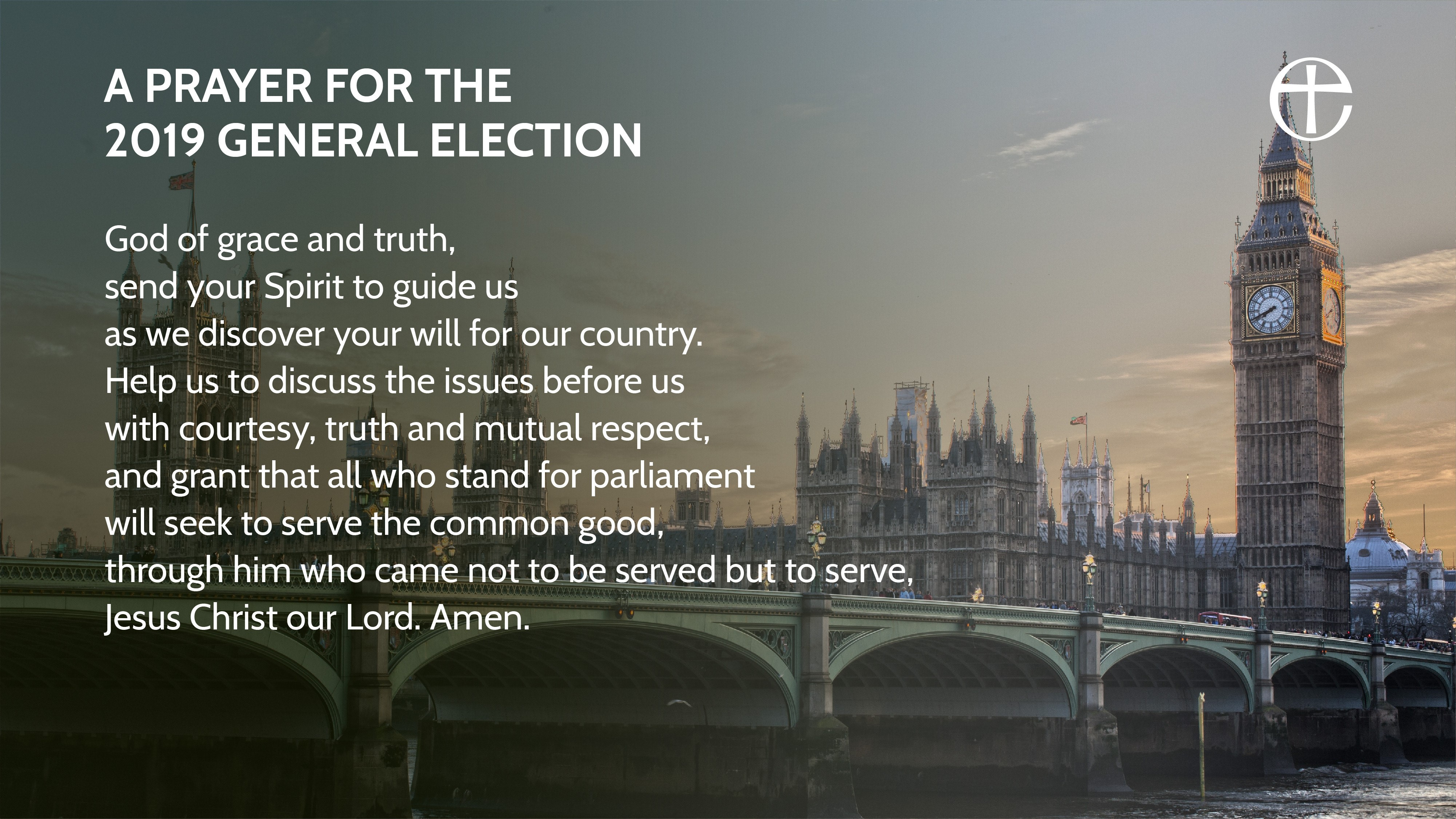 A prayer for the 2019 General Election #GE2019