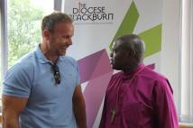 Warren ACE Furman and Archbishop of York at the Crossroads Blackburn Mission