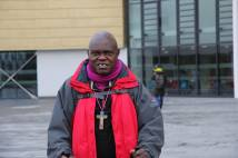 Archbishop John Sentamu on mission in Middlesbrough at Teesside University