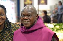 Archbishop on a mission in Scarborough with Pearl of Africa Choir