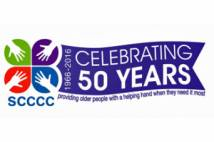 SCCCC Celebrating 50 Years Logo