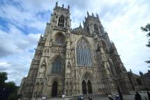 Exterior shot of York Minster