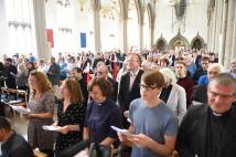 People at the commissioning service at Blackburn Cathedral