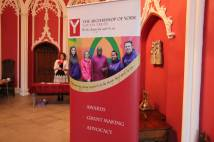 Headteachers Conference - Youth Trust Banner in Entrance Hall