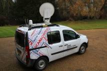 BBC Radio outside broadcast van