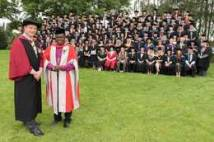 Archbishop at graduations of Askham Bryan students 2016