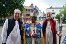 Consecration of Bishop of Richmond at Ripon with Archbishop and Bishop of Leeds