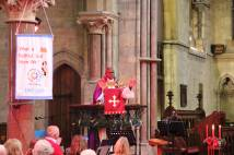 Archbishop preaches at Selby