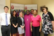 Archbishop and Mrs Margaret Sentamu with staff from the Youth Trust