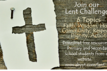 Youth Trust Lent Challenge - 6 topics and direction to download resources