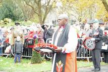 Remembrance Day Service at City of York Memorial Gardens
