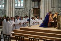 Deacon ordination at York Minster