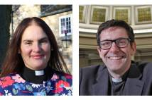 Bishops Sophie Jelley and Andy Emerton
