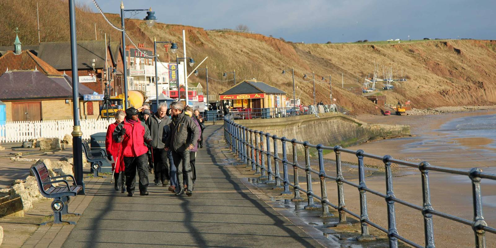 Archbishop on Pilgrimage at Filey