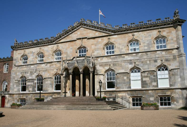 Bishopthorpe Palace in sunshine