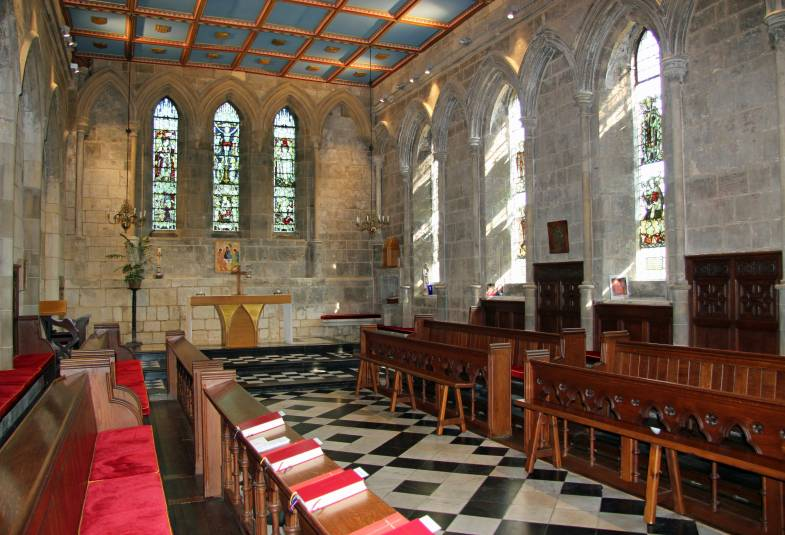 The chapel at Bishopthorpe Palace