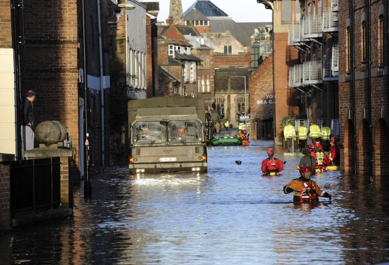 City of York Boxing Day Floods