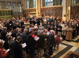 Deanery Celebration Service at York Minster in 2017