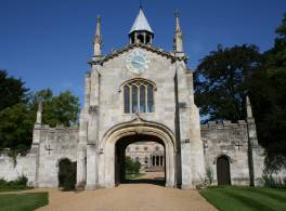 Bishopthorpe Palace through the Gatehouse