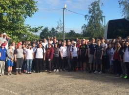 Taize Yorkshire Schools Pilgrimage 2017 - on arrival