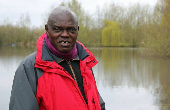 Archbishop Sentamu at Raker Lakes